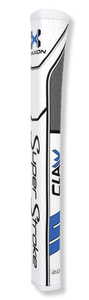 ​​Super Stroke Traxion -  1.0 Claw White/Blue