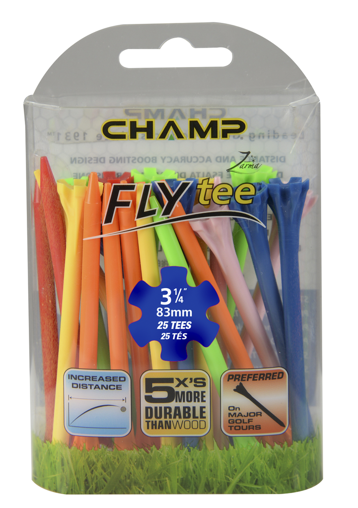 ​​Pack Of 25 - 3 1/4 Regular Mix Flytee