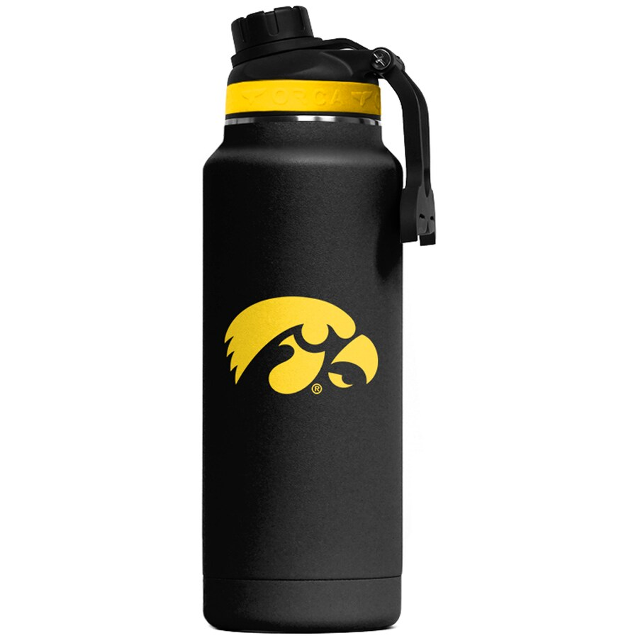 ORCA Hydra 66 oz. Black/Yellow/Black Color Logo University of Iowa