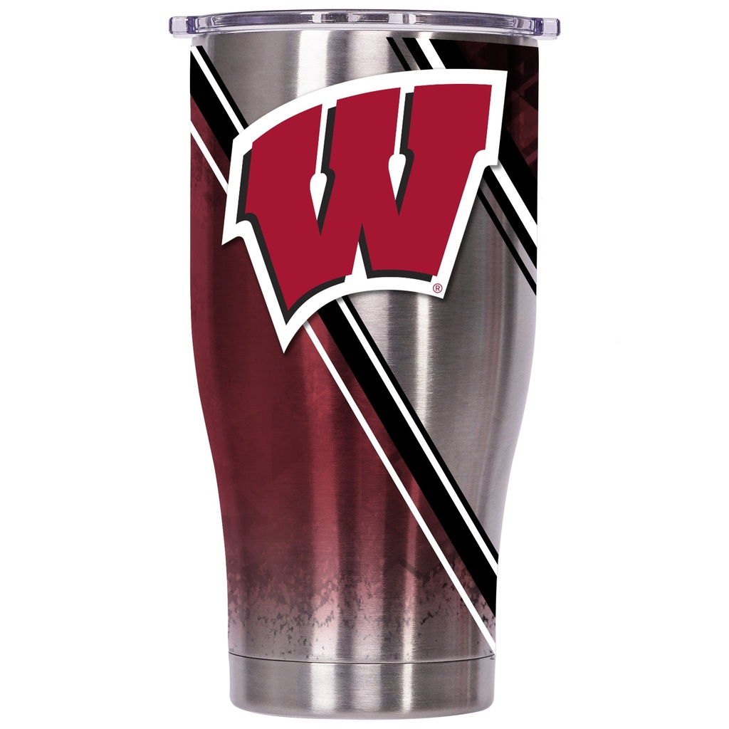 ORCA Chaser 27 oz. Double Stripe Wrap University of Wisconsin