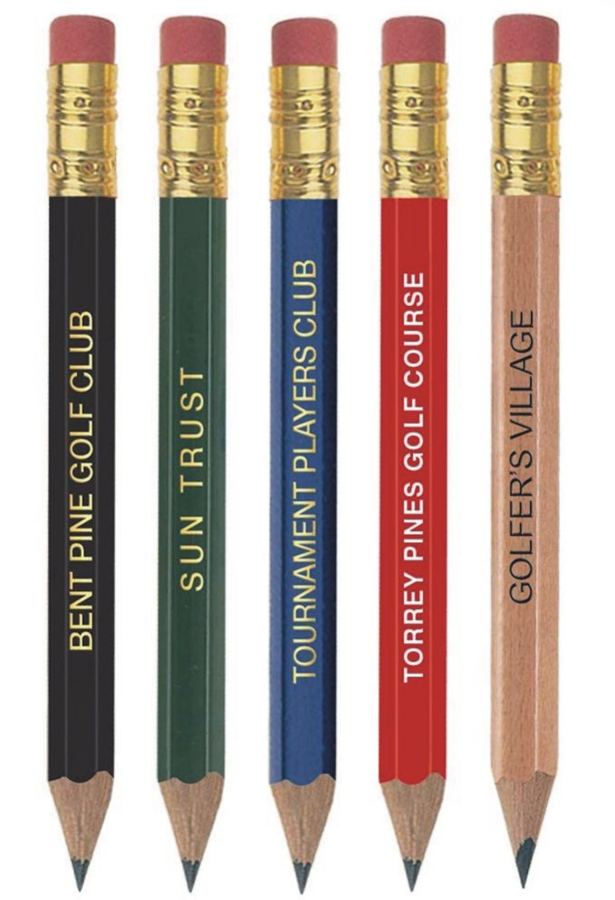 ​​Hex Eraser Pencils - Imprinted