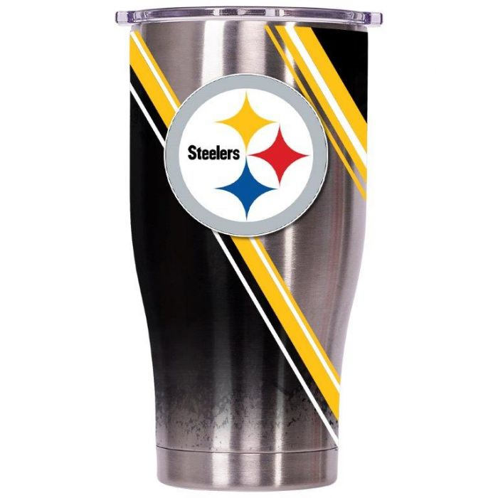 ORCA Chaser 27 oz. Double Stripe Wrap Pittsburgh Steelers