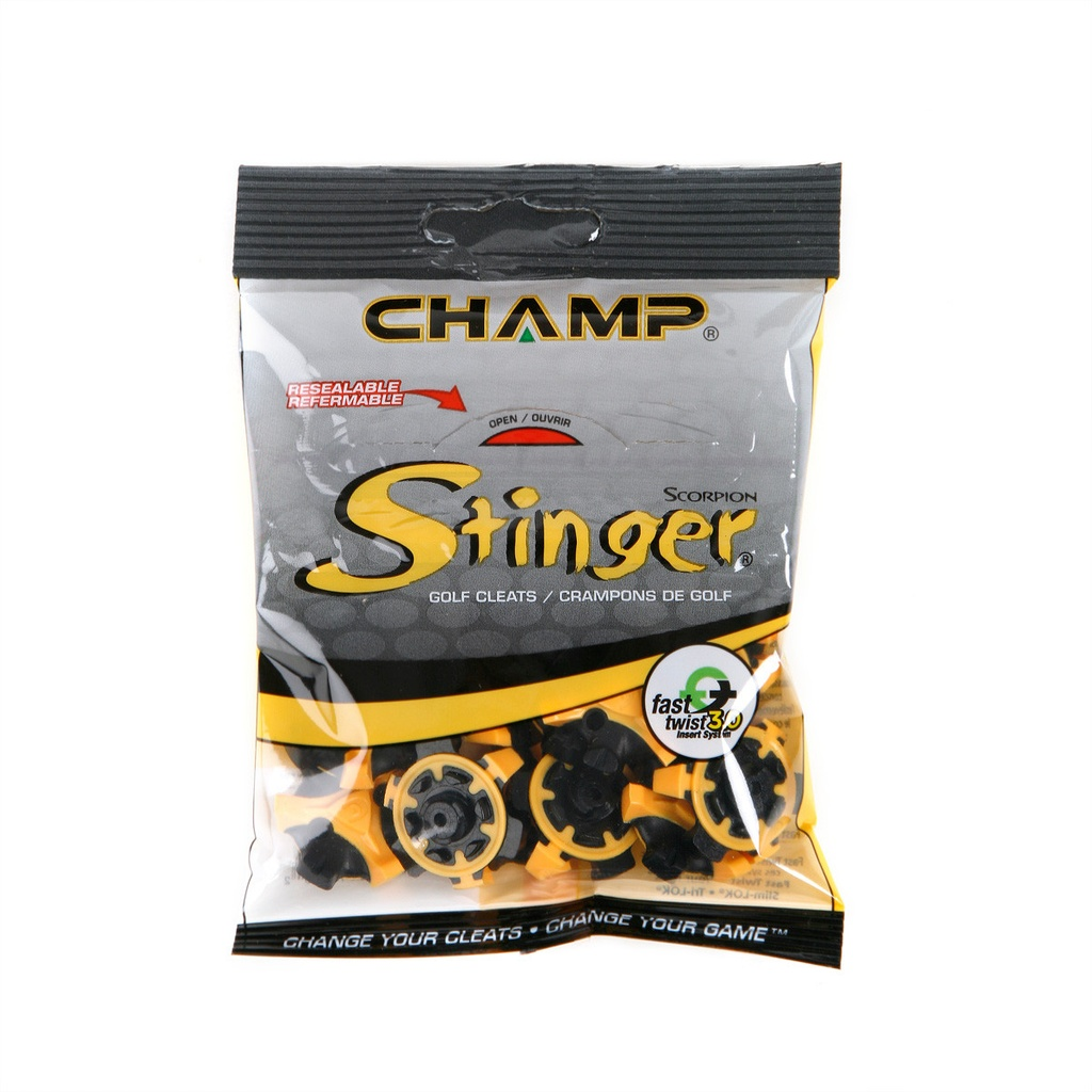 [11-CHSS-F] ​​Champ Scorpion Stinger Fast Twist 3.0   Resealable Bags