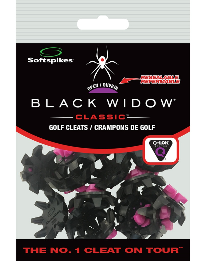 [11-SSBW-Q] ​​Black Widow Qfit Resealable Bags