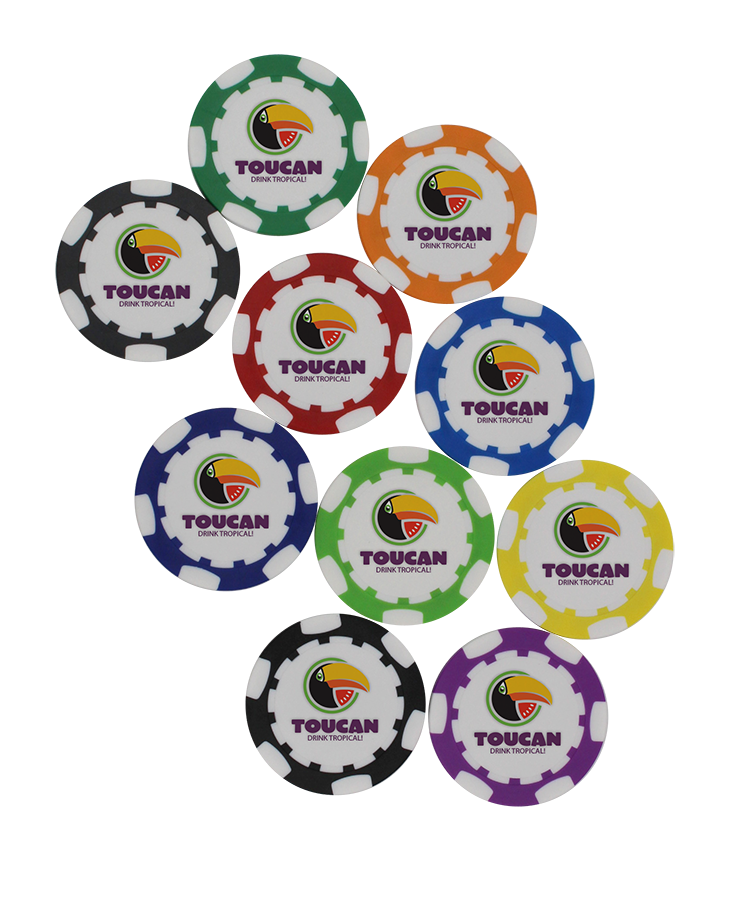 [12-PCBS] ​​Poker Chip Ball Marker - Pers