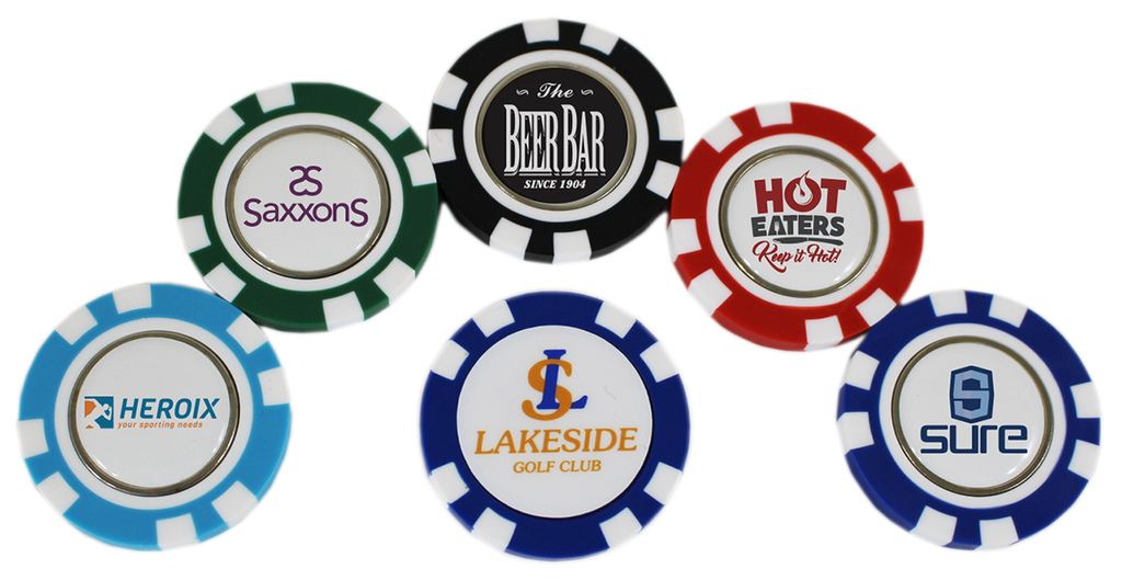 [12-TPPC-D] ​​Poker Chip - 1Side Domed