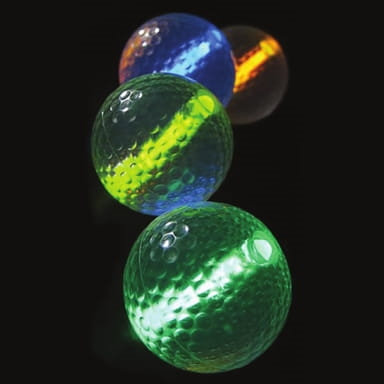 [17-PG] ​​Glow Night Golf Ball W/2 1.5 Sticks