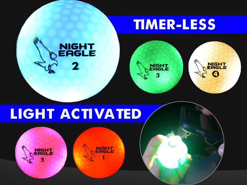 [17-PGLEDNE] ​​Led Golf Ball - Night Eagle CV