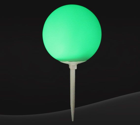 [17-PGTB] ​​Tee Box Spike Marker - Green