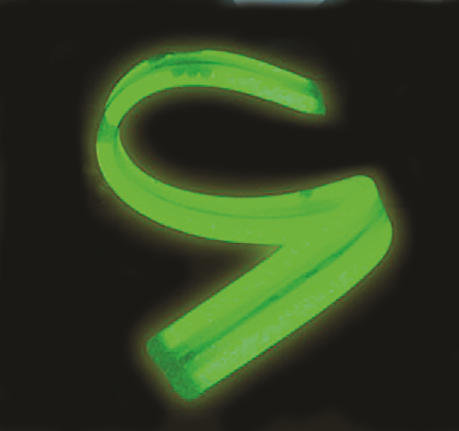 [17-PGTS] ​​Twister Glow Sticks - Green
