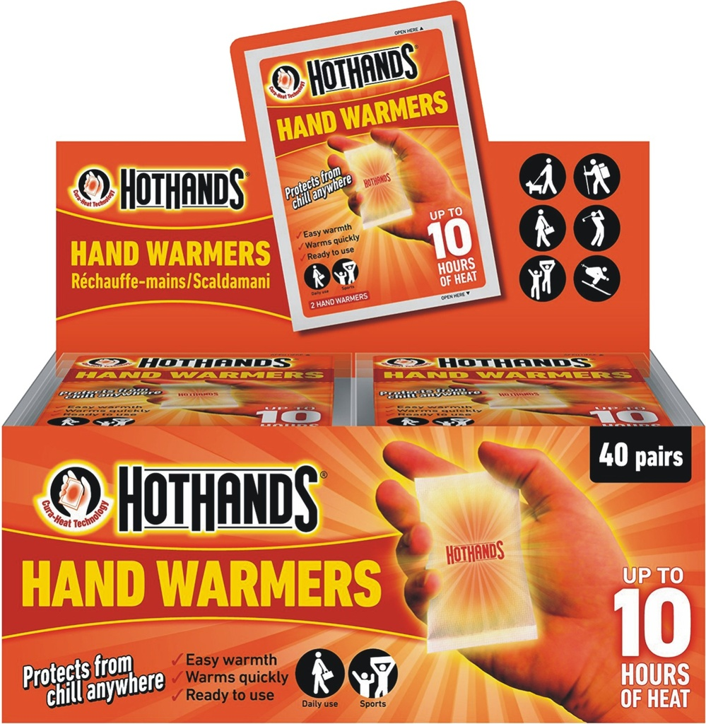 [32-HH200] HotHands Hand Warmers - 40 pairs